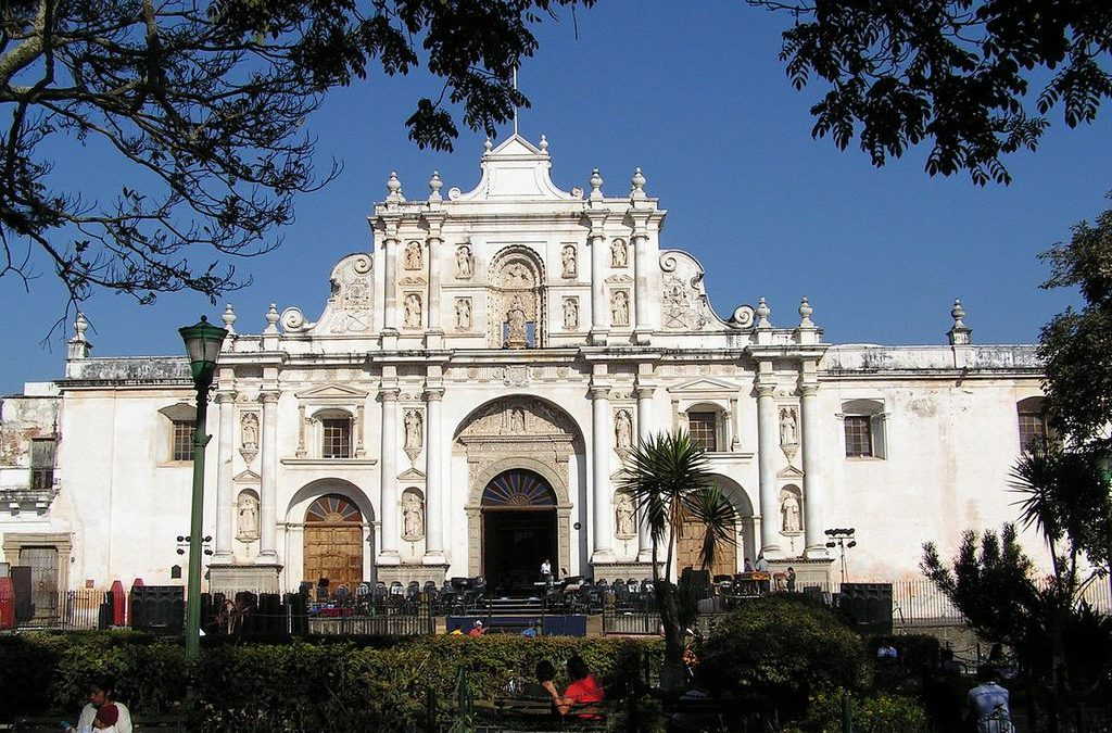 Cathedral in Antigua Guatemala